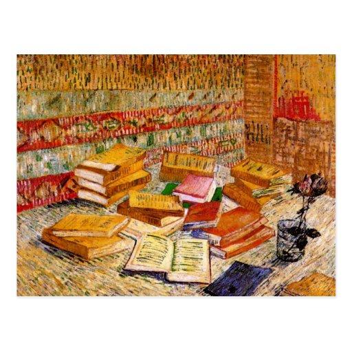 Van Gogh Leben-französische Romane noch u. Rose Postkarte