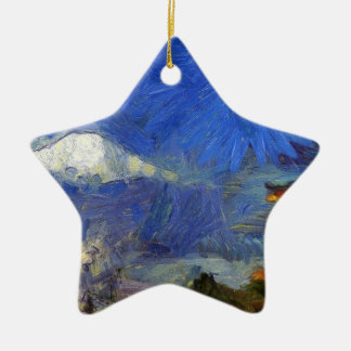 Van Gogh Mt-Fuji-Japan Keramik Ornament