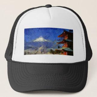 Van Gogh Mt-Fuji-Japan Truckerkappe