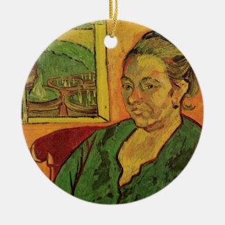Van Gogh; Porträt von Madame Augustine Roulin Keramik Ornament
