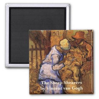 Van Gogh; Schaf-Schermaschinen, Vintager Quadratischer Magnet