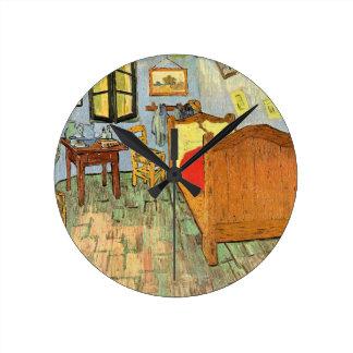 Van Gogh Schlafzimmer Runde Wanduhr