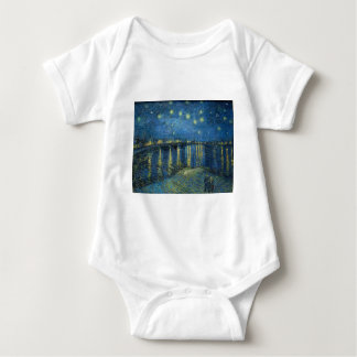 Van Gogh: Sternenklare Nacht über der Rhône Baby Strampler