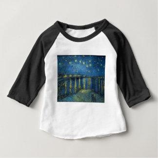 Van Gogh: Sternenklare Nacht über der Rhône Baby T-shirt