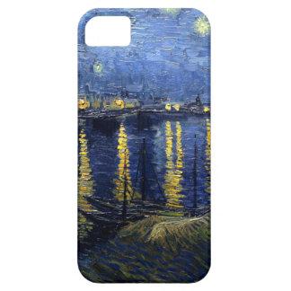 Van Gogh: Sternenklare Nacht über der Rhône iPhone 5 Etui