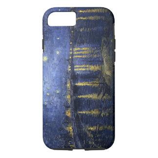 Van Gogh sternenklare Nacht über der Rhône iPhone 8/7 Hülle
