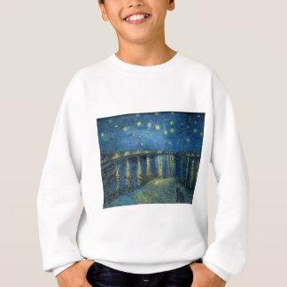 Van Gogh: Sternenklare Nacht über der Rhône Sweatshirt