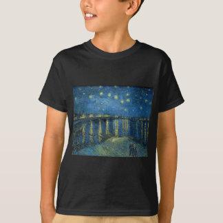 Van Gogh: Sternenklare Nacht über der Rhône T-Shirt