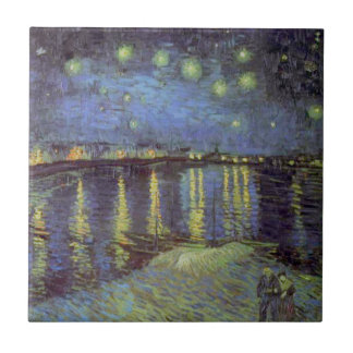 Van Gogh sternenklare Nachtmalerei Keramikfliese