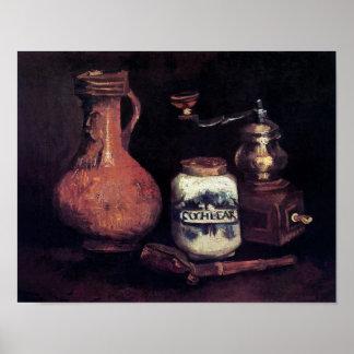 Van Gogh - Stillleben mit Kaffeemühle Plakate