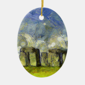 Van Gogh stonehenge Keramik Ornament