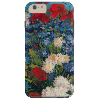 Van- Gogh u. Elizabeth-Blumen - iPhone 6 Plusfall Tough iPhone 6 Plus Hülle