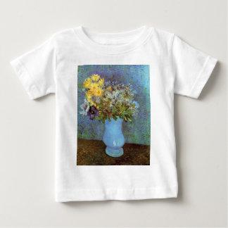 Van Gogh - Vase mit Fliedern, Gänseblümchen und Baby T-shirt
