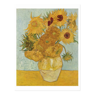 Van Gogh - Vase mit zwölf Sonnenblumen (1888) Postkarten