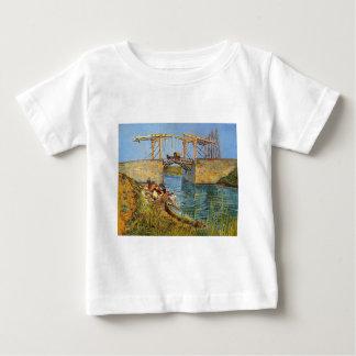 Van Gogh Vincent - die Langlois Brücke Baby T-shirt