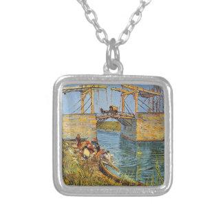 Van Gogh Vincent - die Langlois Brücke Versilberte Kette