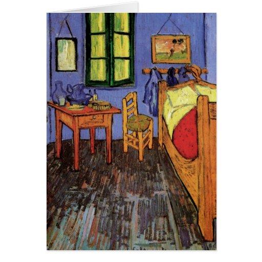 Schlafzimmer In Arles : Van Gogh; Vincents Schlafzimmer in Arles, Vintage Karte  Zazzle