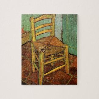 Van Gogh; Vincents Stuhl mit Rohr, Vintage Kunst Puzzle