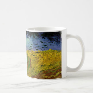 Van Gogh - Weizen-Feld mit Krähen (1890) Kaffeetasse