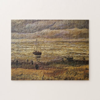 Van- Goghansicht von Meer in Scheveningen, schöne Puzzle