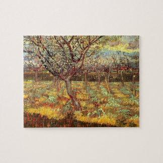 Van- Goghaprikosen-Baum in der Blüte, Vintage Puzzle