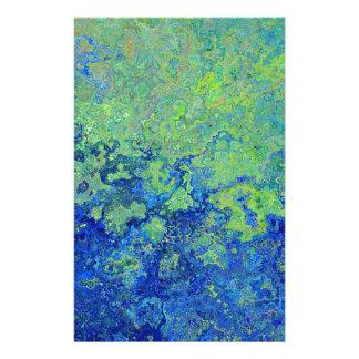 Van- Goghart-Farben-Muster Briefpapier