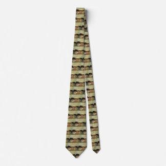 Van- Goghbirnen-Felder, Vintage Landschaftsfeine Personalisierte Krawatten