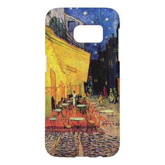 Van- Goghcafé-Terrasse auf Place du Forum, schöne