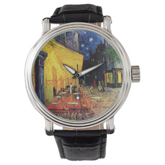 Van- Goghcafé-Terrasse auf Place du Forum, schöne Armbanduhr