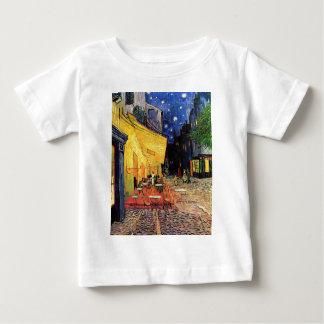 Van- Goghcafé-Terrasse auf Place du Forum, schöne Baby T-shirt