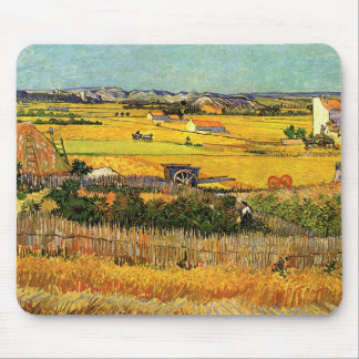 Van- Goghernte-La Crau, Montmajour, schöne Kunst Mousepad