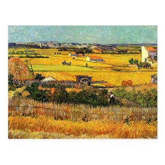 Van- Goghernte-La Crau, Montmajour, schöne Kunst Postkarte