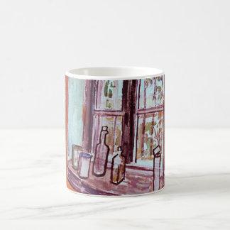 Van- Goghfenster von Vincents Studio am Asyl Kaffeetasse