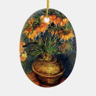 Van GoghFritillaries in einem kupfernen Vase, Keramik Ornament