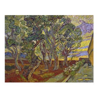 Van- Goghgarten der Kalender-Postkarte St Paul