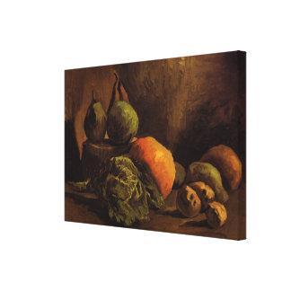 Van- Goghgemüse-Frucht, Vintage noch Leben-Kunst Leinwanddruck