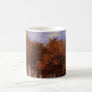 Van- Goghherbst-Landschaft, Vintage Natur-feine Kaffeetasse