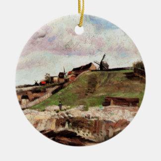 Van- Goghhügel von Montmartre mit Steinbruch, Keramik Ornament