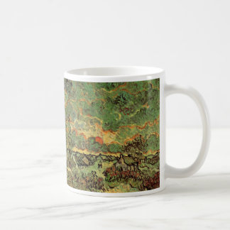 Van- GoghHütten-Zypressen-Erinnerung des Nordens Kaffeetasse