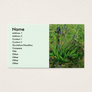 Van- Goghiris, Vintage Garten-feine Kunst-Blumen Visitenkarte