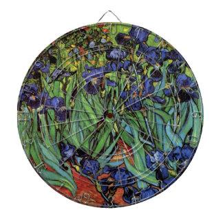 Van- Goghiris, Vintager Garten-feine Kunst Dartscheibe