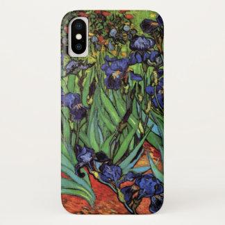 Van- Goghiris, Vintager Garten-feine Kunst iPhone X Hülle
