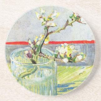 Van- Goghkunst, blühende Mandel-Niederlassung in Getränkeuntersetzer