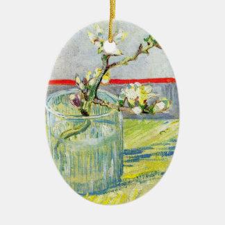 Van- Goghkunst, blühende Mandel-Niederlassung in Keramik Ornament