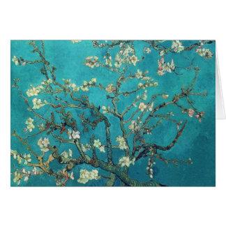 Van- Goghmandel-Blüten-Anmerkungs-Karte Mitteilungskarte