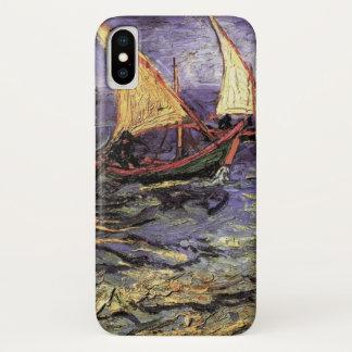 Van- GoghMeerblick bei Saintes Maries, schöne iPhone X Hülle