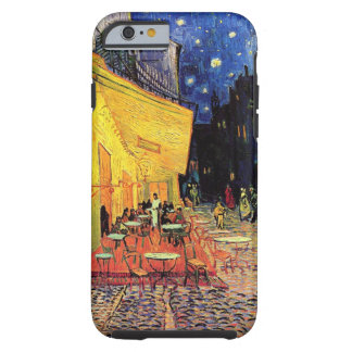 Van- Goghnachtcafé-Terrasse auf dem Platz du Forum Tough iPhone 6 Hülle