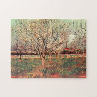 Van- Goghobstgarten in der Blüte Vintag, feine Puzzle