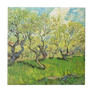 Van- Goghobstgarten in der Blüte, Vintage feine Fliese