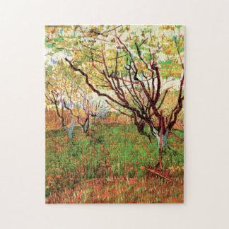 Van- Goghobstgarten in der Blüte, Vintage feine Puzzle